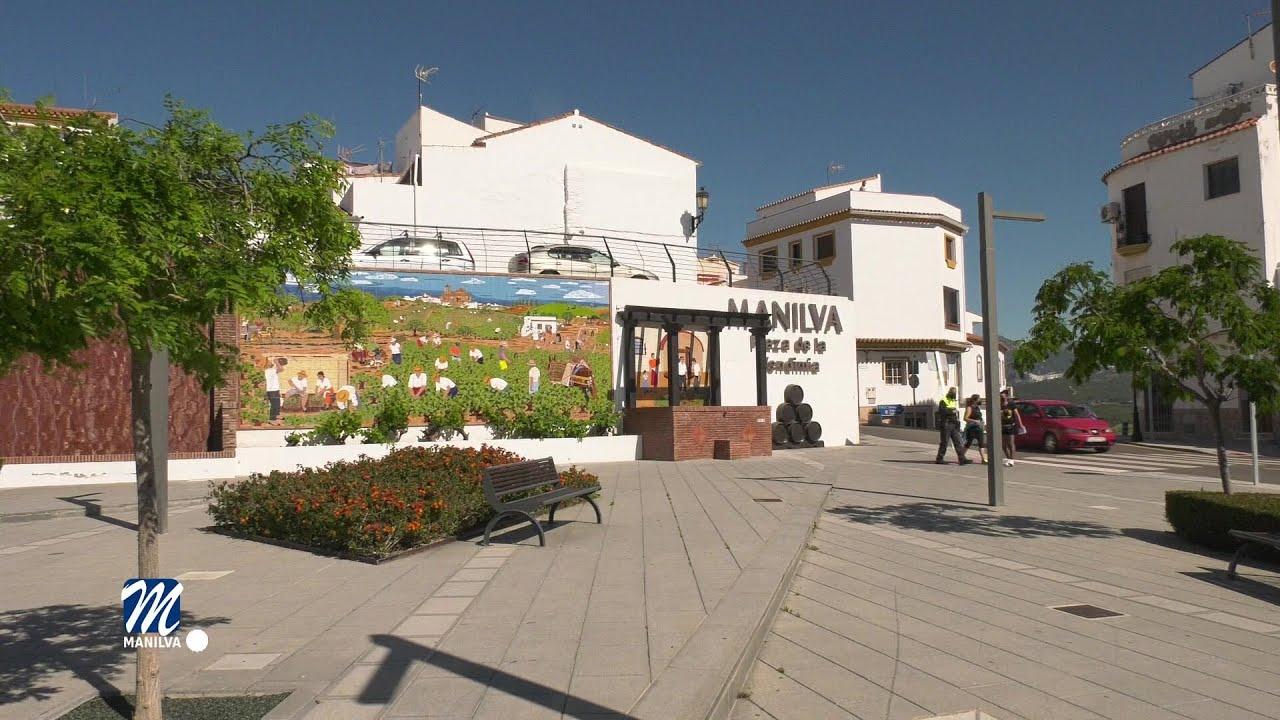 Inaugurado el mosaico del lagar en Plaza de la Vendimia
