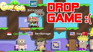 DROP GAME! SEE WHAT HAPPENS NEXT! | GROWTOPIA