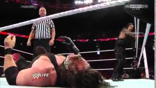 Kane vs Roman Reigns  Last  Man Standing  Match
