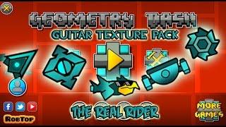 getlinkyoutube.com-Geometry Dash 2.01 -2.011 - Guitar Hero Styles Texture Pack Update 2   By The Real Rider