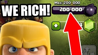 getlinkyoutube.com-MORE DARK ELIXIR THEN EVER BEFORE!! - Clash Of Clans