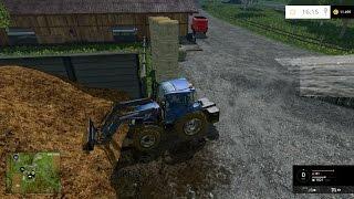 getlinkyoutube.com-Farming Simulator 2015 - LS15 - s1e5 - Robota z obornikiem