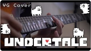 getlinkyoutube.com-Undertale: Battle Against A True Hero - Metal Cover || RichaadEB