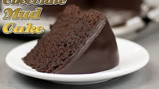 getlinkyoutube.com-Easy Chocolate Mud Cake Recipe ! - Super Fudge Cake recipe