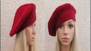 getlinkyoutube.com-How to Crochet a Beret Hat Pattern #3 │by ThePatterfamily