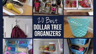 getlinkyoutube.com-20 BEST DOLLAR TREE ORGANIZERS