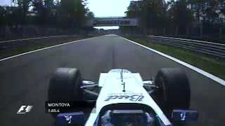 getlinkyoutube.com-The Fastest Lap in F1 History: Montoya at Monza