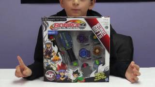 getlinkyoutube.com-Beyblade Ultimate Gift Set Unboxing Walmart Exclusive