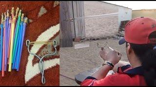 Abdullah Minor  صناعة سهم النينجا العربي بالتوكه و المصاص