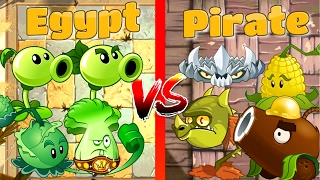 getlinkyoutube.com-Pirate Seas vs Ancient Egypt Plants vs Zombies 2 Challenge