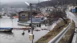 getlinkyoutube.com-Tsunami in Ishinomaki, Miyagi Prefecture, Japan (2)