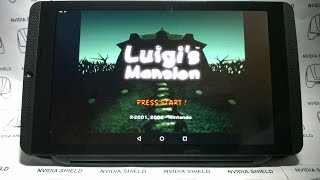 getlinkyoutube.com-NVIDIA SHIELD TABLET - Luigi's Mansion - Dolphin emu Overclocking