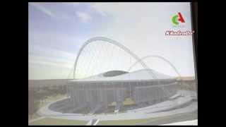 getlinkyoutube.com-Relance de l'agrandissement du stade du 5 juillet.