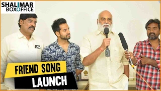 getlinkyoutube.com-K. Raghavendra rao Launches Raja Meeru Keka Movie Friend Friendship Song || Shalimar Trailers
