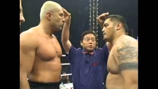 Mark Hunt vs. Jerome Le Banner (K-1 WGP 2002 Semi Final)