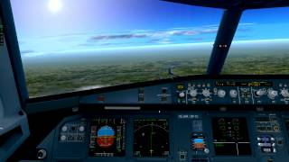 getlinkyoutube.com-X Plane 10-A320neo-All checklist completed-London to Paris-Cold&Dark-Full
