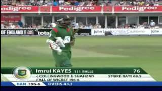 2010: Bangladesh vs England 2nd ODI at Bristol (Short Highlights)