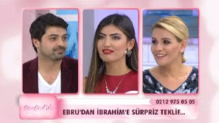 getlinkyoutube.com-Ebru'dan İbrahim'e sürpriz teklif! - Esra Erol'da 87. Bölüm - atv
