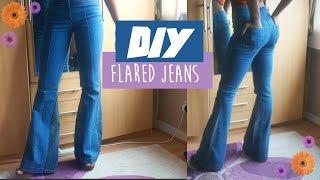 🌸 DIY flared jeans| FASHION FIX EP 4 | Birabelle 🌸