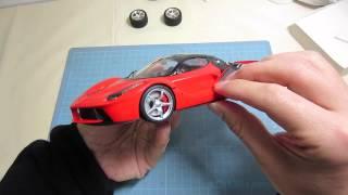 【車のプラモデル製作】タミヤ ラフェラーリamiya laferrari is assembled finished