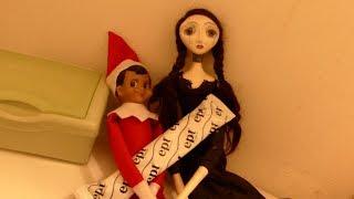 getlinkyoutube.com-How our elf on the shelf went bad!