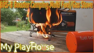 getlinkyoutube.com-Awesome BOOSTER BRS-8 Multi-Fuel Stove - First Try! - 374