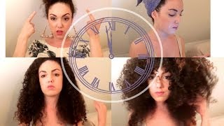 getlinkyoutube.com-BIG #CurlyHair TUTORIAL : ROUTINE COMPLETE ( du Shampoing au Volume)
