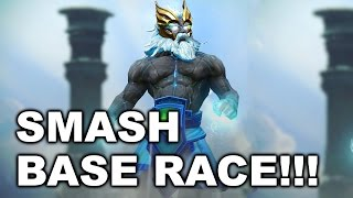 getlinkyoutube.com-SMASH Zeus AMAZING Game + Base Race!!! - E.Wolves Archon Dota 2