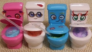 getlinkyoutube.com-Toilet Candy Mokomoko Mokolet 4colors Arrange