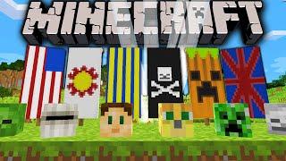 getlinkyoutube.com-Minecraft 1.8 Snapshot: How to Dye Banners, Custom Flags, Survival Monster Heads, Lightning Summon