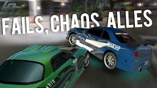 getlinkyoutube.com-FAILS, CHAOS, ALLES - NEED FOR SPEED UNDERGROUND Part 22 | Lets Play
