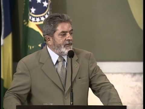 Ex-Presidente Lula Sobre a Importância das Ferrovias