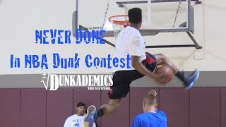 getlinkyoutube.com-36 Dunks NEVER Done in the NBA Dunk Contest : Dunkademics
