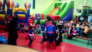getlinkyoutube.com-SPIDERMAN, BATMAN , IRONMAN Y LOS MINI SUPER HEROES