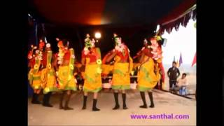 getlinkyoutube.com-santhali ( santali ) dance performance @ song - amah muluj landa chemek taadaam