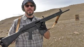 getlinkyoutube.com-Shooting the C308 Battle Rifle from Century Arms (CETME, H&K G3)