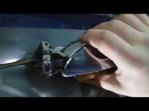 Снятие карты двери, замена ручки открытия двери на Chery Amulet
