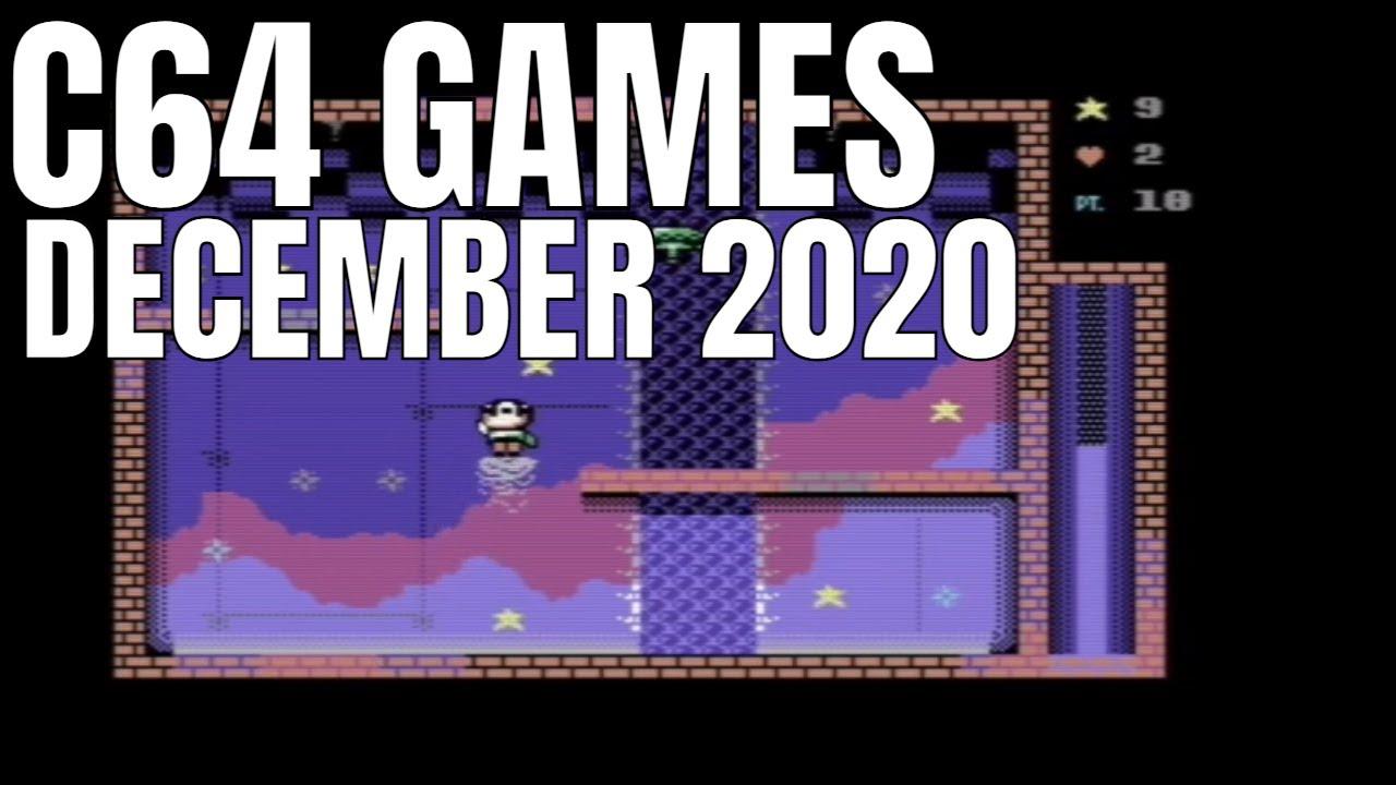 C64 December 2020 Games