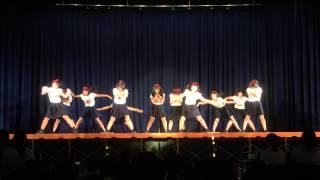 2015年度千里青雲高校ダンス部文化祭(7)1年ガールズ