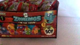 getlinkyoutube.com-Zomlings in the Town unboxing part 1
