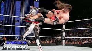 getlinkyoutube.com-Kalisto vs. Neville – United States Championship Match: SmackDown, Jan. 28, 2016