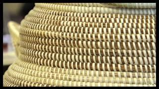 getlinkyoutube.com-Sweetgrass Basket Weaving
