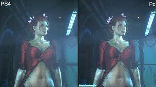 getlinkyoutube.com-Batman Arkham Knight Pc vs PS4 Graphics Comparison