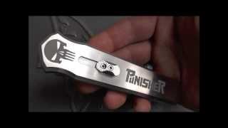 The Punisher - Custom OTF Knife