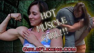 getlinkyoutube.com-Hot Muscle Girl: Behind The Scenes