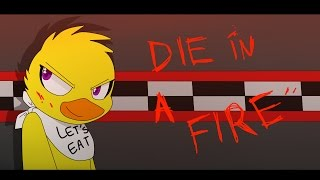 getlinkyoutube.com-[FNAF ANIMATION] DIE IN A FIRE  -- Shgurr