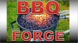 getlinkyoutube.com-BBQ Forge Build - DIY Professional Blacksmiths Side Blast Forge