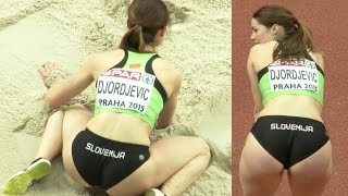 getlinkyoutube.com-Nina Djordjevic 2015, post Marija Sestak? lovely Slovenian long jumper