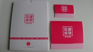 getlinkyoutube.com-Unboxing BTS (Bangtan Boys) Live 화양연화 On Stage Concert Goods (Program Book, Photo & Photo Card Set)