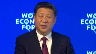 Davos 2017 - Opening Plenary with Xi Jinping President of the Peoples Republic of China